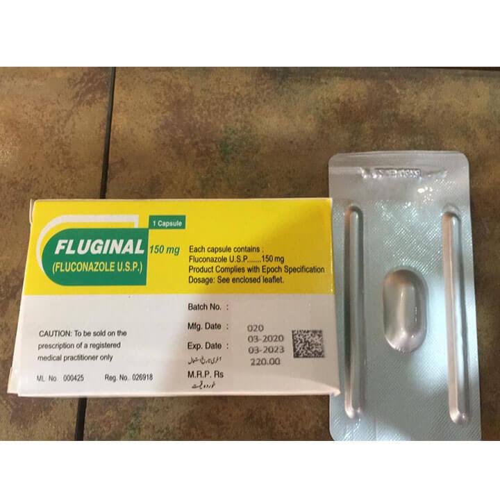 Fluginal Capsules (Fluconazole 150mg)