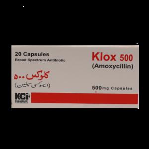 KLOX Capsules 500 MG
